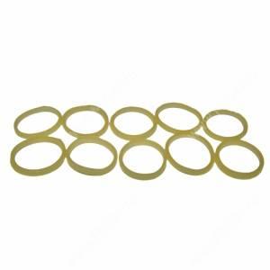 Резинки для челки желтые