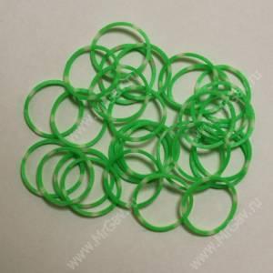 Резинки Milton комбо, зеленые, 10 шт.