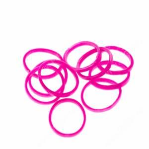 Резинки Milton лайт, розовые, 10 шт.