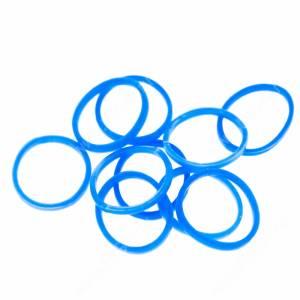 Резинки Milton яркие, синие, 10 шт.