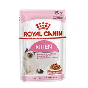 Royal Canin Kitten Instinctive (в соусе), 85 г