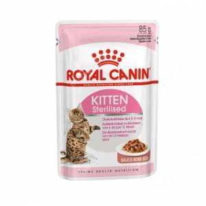 Royal Canin Kitten Sterilised (в соусе), 85 г