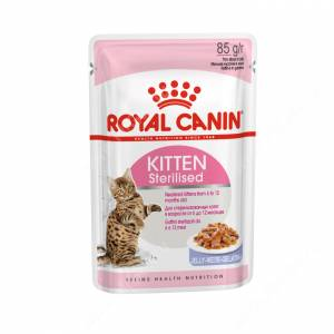 Royal Canin Kitten Sterilised (в желе), 85 г