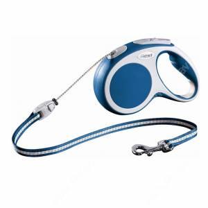 Рулетка Flexi Vario Basic, S, до 12 кг, 5 м, синяя