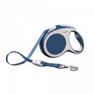 Рулетка Flexi Vario Compact, L, до 60 кг, 5 м, синяя