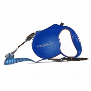 Рулетка трос Triol FD9203, синяя
