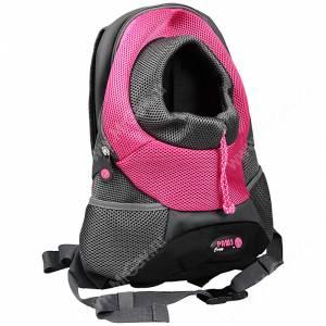Рюкзак Crazy Paws, L, до 5 кг, розовый
