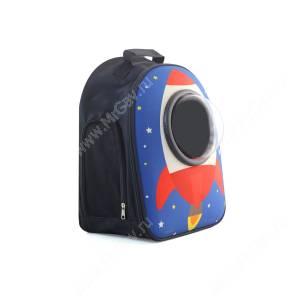 Рюкзак с иллюминатором Triol Ракеты