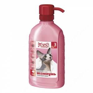 Шампунь Ms.Kiss Грациозный сфинкс для бесшерстных кошек, 200 мл