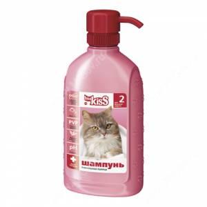 Шампунь Ms.Kiss Роскошная львица для длинношерстных кошек, 200 мл