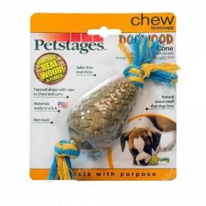 Шишка деревянная Petstages Dogwood, маленькая