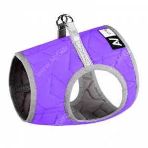 Шлейка AiryVest One, S2, 46-50 см, фиолетовая