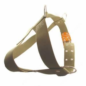 Шлейка брезентовая Лаурон 90, 87-115*4,5 см , светло-зеленая