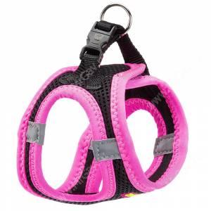 Шлейка Ferplast Kaori XL, черно-розовая