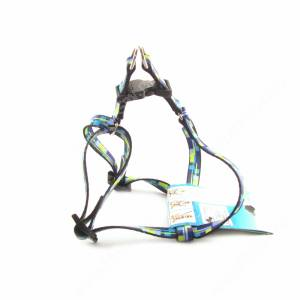 Шлейка нейлоновая Ferplast Arlecchino 36-54 см*1,5 см, синяя