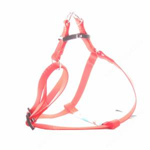 Шлейка нейлоновая Ferplast Easy, 42-60 см*1,5 см, красная