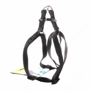 Шлейка нейлоновая Ferplast Easy, 42-60 см*1,5 см, черная