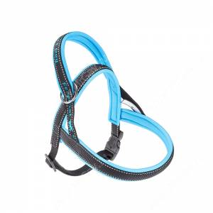 Шлейка нейлоновая Ferplast Sport P M, голубая
