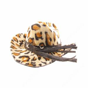 Шляпка леопардовая, оранжевая