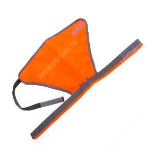 Сигнальный жилет OSSO, 50 см, оранжевый