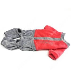 Спортивный костюм из велюра OSSO, 20 см, розовый