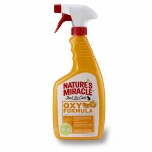 Спрей для устранения пятен и запахов от кошек 8in1 Nature's Miracle JFC Orange-Oxy Formula спрей, 710 мл
