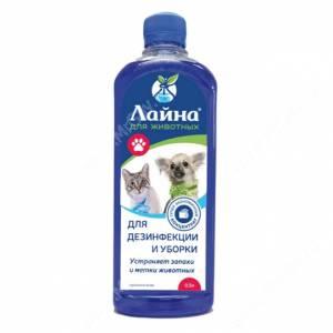 Средство для дезинфекции для животных Лайна, Пихта, 0,5 л