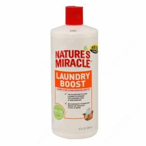 Средство для стирки для уничтожения пятен, запахов и аллергенов 8in1 Nature's Miracle Laundry Boost S&O Remover Additive, 946 мл