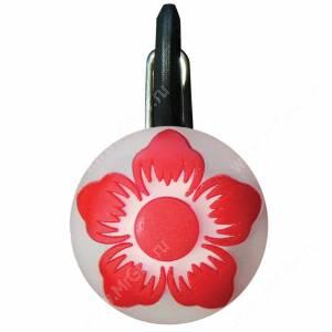 Светящийся брелок NiteIze ClipLit Red Flower