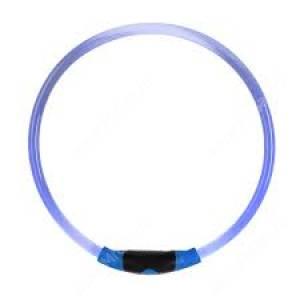 Светящийся ошейник NiteIze Nite Howl, 230-68 см, синий