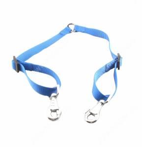 Сворка нейлоновая Ferplast Twin 50 см*2 см, синяя