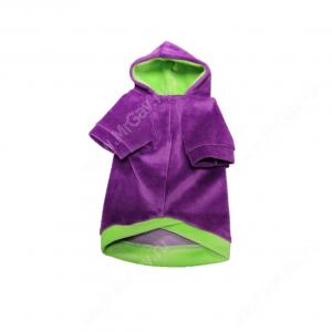 Толстовка с капюшоном OSSO, 30 см, фиолетовая
