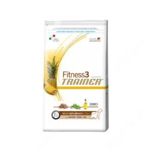 Trainer Fitness 3 Adult Medium/Maxi (Конина и горох), 12,5 кг