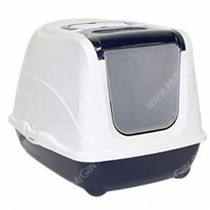 Туалет-домик Moderna Flip cat, 39  см*50 см*37 см, темно-синий