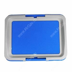 Туалет V.I.Pet P103, 63 см*48 см*6 см, синий