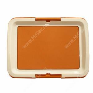 Туалет V.I.Pet P103, 63 см*48 см*6 см, коричневый