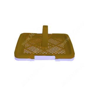 Туалет V.I.Pet P159, 48 см*35 см*6 см, коричневый