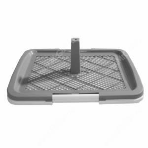Туалет V.I.Pet P160, 63 см*49 см*6 см, серый