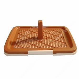 Туалет V.I.Pet P160, 63 см*49 см*6 см, коричневый