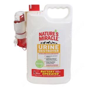 Уничтожитель мочи с распылителем на батарейках 8in1 Nature's Miracle Urine Destroyer, 5,7 л