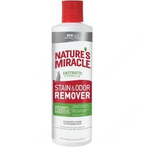 Уничтожитель пятен и запахов от кошек JFC S&O Remover универсальный 8in1 Nature's Miracle, 473 мл