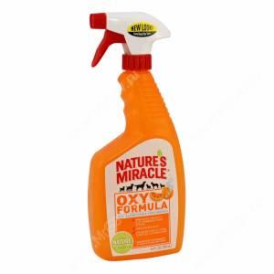 Уничтожитель запахов и пятен 8in1 Nature's Miracle Orange-Oxy Formula S&O Remover, 709 мл