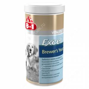 Витамины 8in1 Excel Brewer`s, 1 шт.