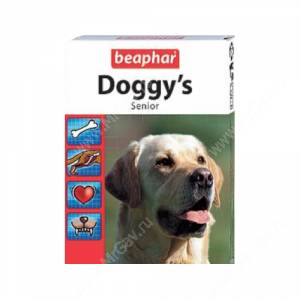 Витамины Beaphar Doggy`s Senior, 1 шт.