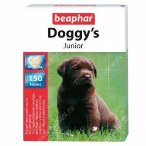 Витамины Beaphar Doggy`s Junior, 1 шт.