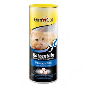 Витамины для кошек GimCat Tabs рыба + биотин, 425 г