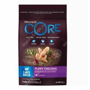 Wellness Core для щенков крупных пород из курицы
