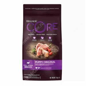 Wellness Core для щенков мелких и средних пород из индейки с курицей<br /><br />