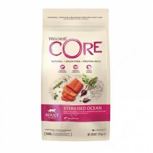 Wellness Core для стерилизованных кошек и кастрированных котов из лосося