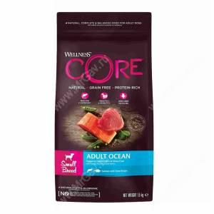 Wellness Core для взрослых собак мелких пород из лосося с тунцом